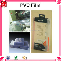 Folding Plastic Sheet PVC Clear Rigid Film In Roll Or In Sheet