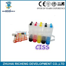 hot slae! 6BK/6C/6M/6Y/6PC/6PM ciss cartridge for BJC I900 with factory price