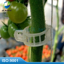Plastic tomato grow support clips plant grow clips