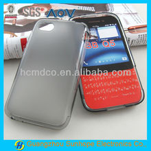 Blackberry Q5 frosted gel mobile phone case