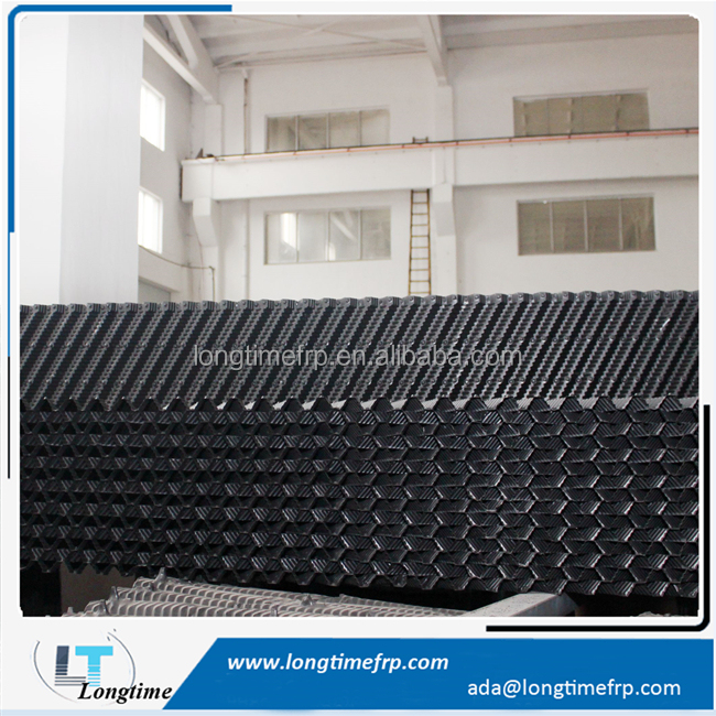 19mm Pitch PVC Counter flow cooling tower fill packs