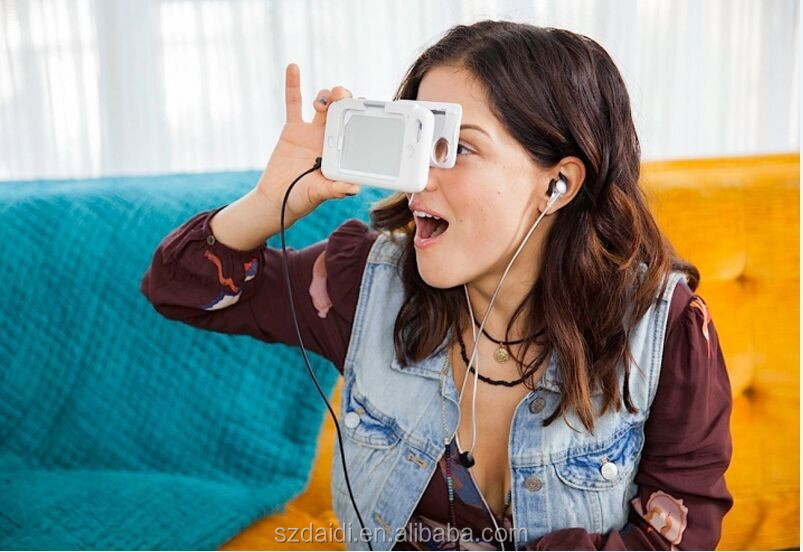 New invented product 3D VR box glasses with 3D hot video