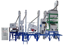 mini rice mill plant 18tons completed rice mill machine