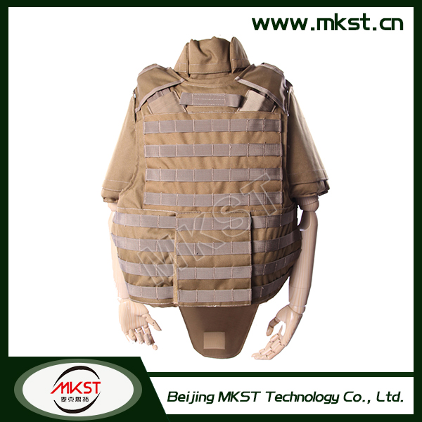 MKST650 Series Full Protection With Quick Release System S-XXL Level 4 Bulletproof Vest