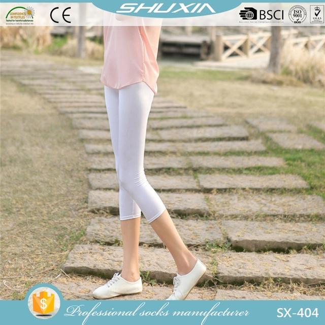 SX-404 wholesale tights pantyhose and leggings high quality women tights pantyhose seamless pantyhose lycra spandex leggings f