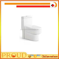 Sanitary Ware Washdown Ceramic One Piece Toilet For Bathroom