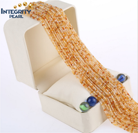 Yellow topaz gemstone loose strand price natural 2mm 3mm yellow topaz