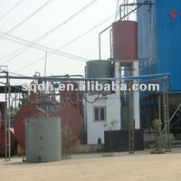 Waste engine oil regeneration system lube oil recycle machine