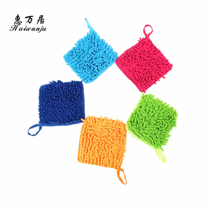 Most popular OEM quality colorful household cleaning soft hand towels