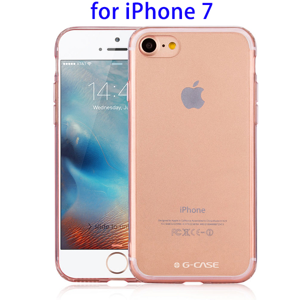 Instant Buying Plating Shiny Crystal TPU + PC Back Cover Case for iPhone 7