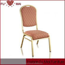Fast Delivery reliable material modern used stackable chairs /wedding chair in foshan