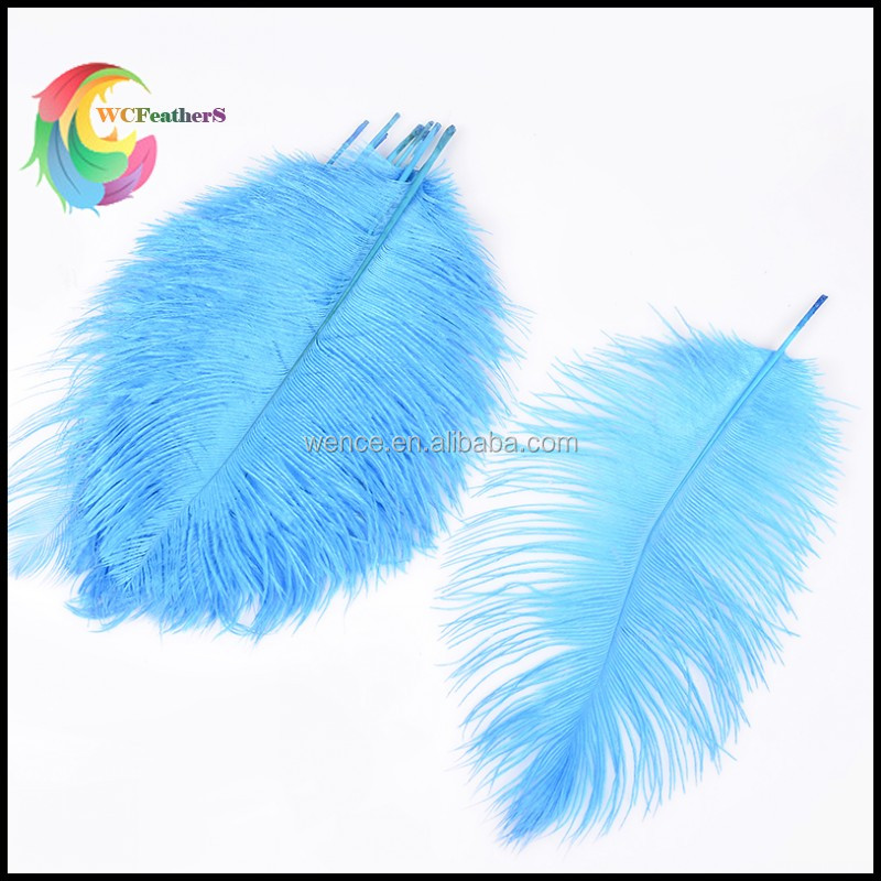 WC562 Chinese WenCe Supplier Used Wedding Party Decoration Wholesale Dyed Ostrich Feathers for Sale