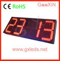whole sale latest technology jumbo 16 inch semi-outdoor led clock