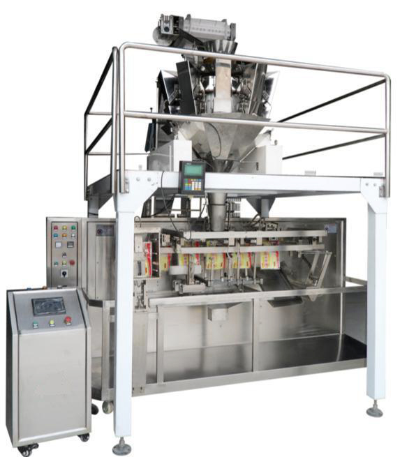 Multi-Function doypack weighing filling and sealing machine for chocolate coffee beans