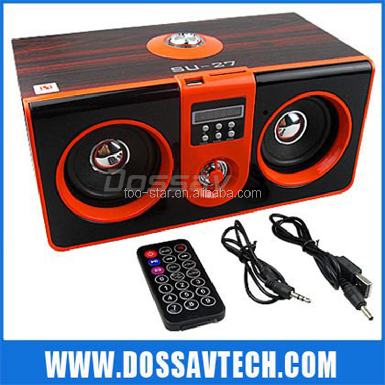 Super Bass Portable Mini Speaker Support Fm/Mic/Tf Card Function Bluetooth Speaker