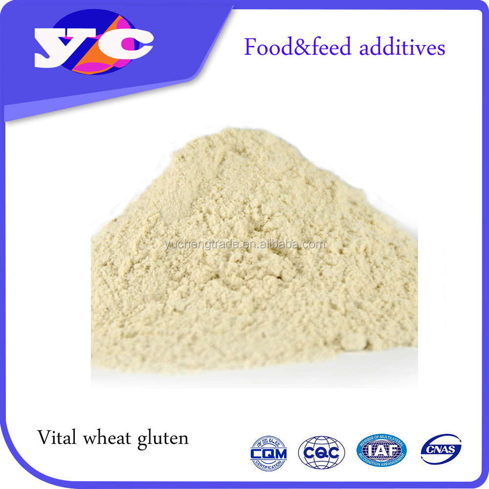 Animal Feed Wheat Gluten With High Protein Source And Binding Ingredient In Pet Foods