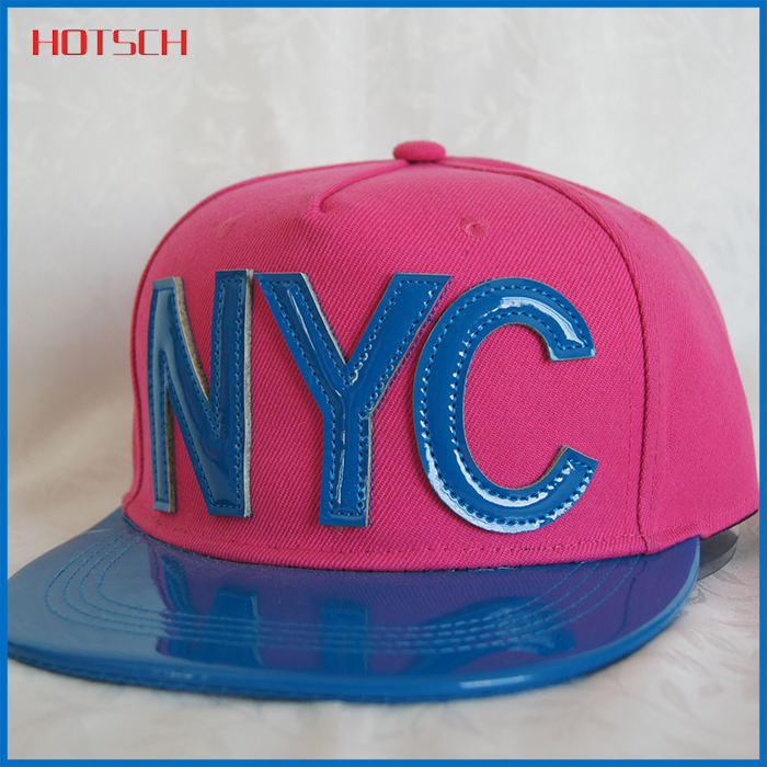 New design 2016 plastic letters snapback hat