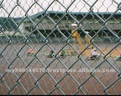chain link fencing( ISO 9001)