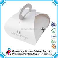 Top quality custom paper cake packaging