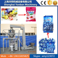 Hot sale !!! Fully Automatic 250g/500g sugar pouch/candy filling sealing packing machine