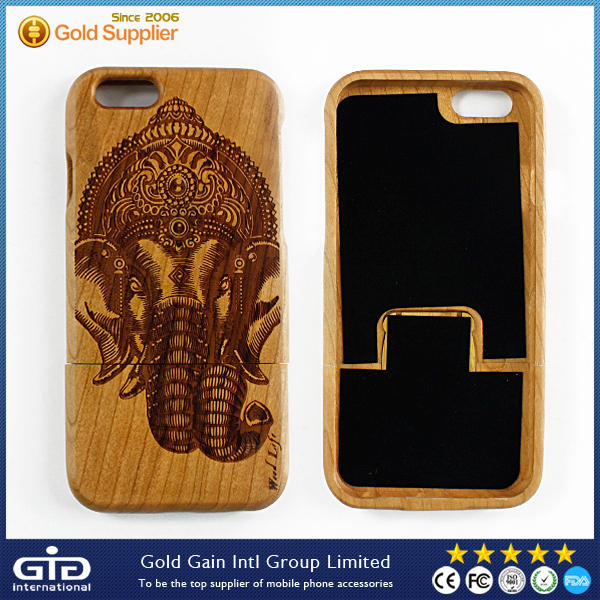 High Quality Wooden Cell Phone Case For iPhone 6