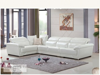 High Quality Exclusive Genuine or Rexine Leather PU Living Room Sofa Foshan Ref.A132