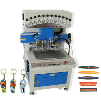 ZY brand Supply Soft PVC Label Making Machine/Rubber PVC Patches Automatic Machine