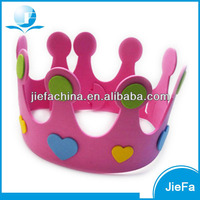 Princess Kids Foam Crowns For Birthday Party