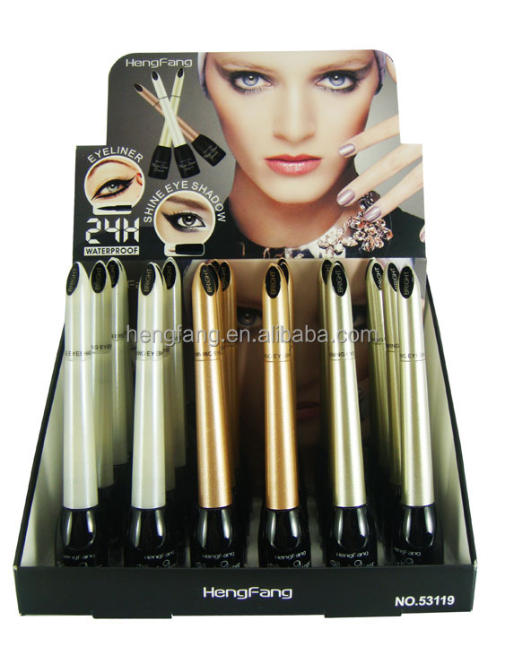Good quality OEM make up waterproof liquid eyeliner +eyebrow pen