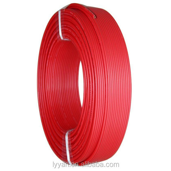 10mm Copper Conductor PVC Insulation Building electric cable wire
