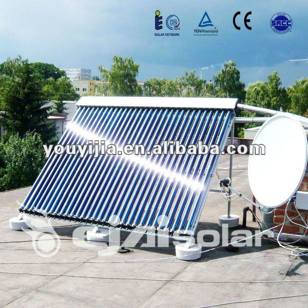 Evacuated Tube Solar Thermal Panel