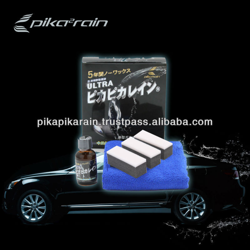 Car care , car glass coating , new technology , wax for helmet , Ultra Pika Pika Rain