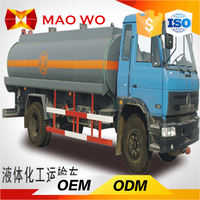 Used standrad 10000 L oil transport tanker fuel truck for sale