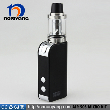 Noriyang Amazing design smokjoy air 50s micro kit five colors choices smokjoy air 50s micro starter with best price