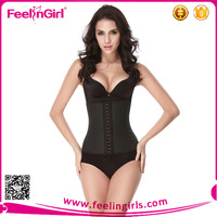 Fashion Colombian Abdominal Waist Cincher Corset Latex