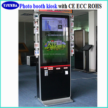 "Alibaba 3d led tv 65"" photo booth kiosk 4k monitor interactive kiosk support blue picture video"