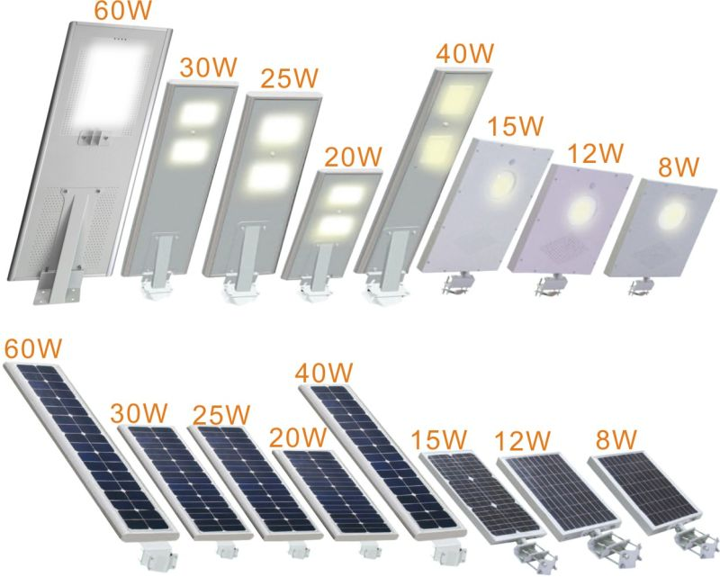60 Jpg Pir Sensor All In One Solar Led Street
