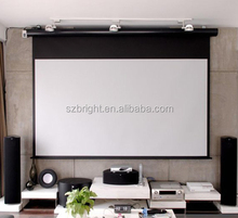 matt white projector screen projection screen 100 inch 120 inch manual pull down screen self lock