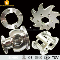 Custom precision cnc machining stainless steel machined turning milling parts for electrical control system parts