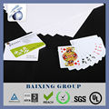 Eco-friendly Plastic PET/ABS business game cards