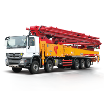SANY Mobile Trailer Concrete Pump 52m