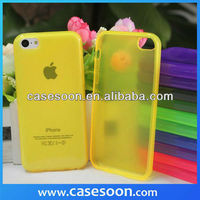 Factory Price For iPhon 5C Candy TPU Case cover ,Cell phone Cases for iPhone 5C