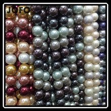 "8mm Pretty Multicolor Shell MOP Round Shape Gemstone Loose Beads Strand 15"" For Jewellery Making"