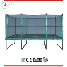 10*15 ft bungee trampoline price, square trampoline, roof trampoline