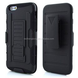 Phone case factory hard case armor impact case for iphone 6 plus