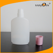 100ml White Cosmetic Plastic Bottles for Cream Lotion with Screw Cap , Plastic Cosmetic Containers