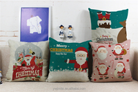 Christmas Gift pillows home decor chair covers pattern santa claus car seat