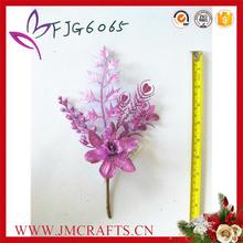 Latest design artificial leaves spray with great price