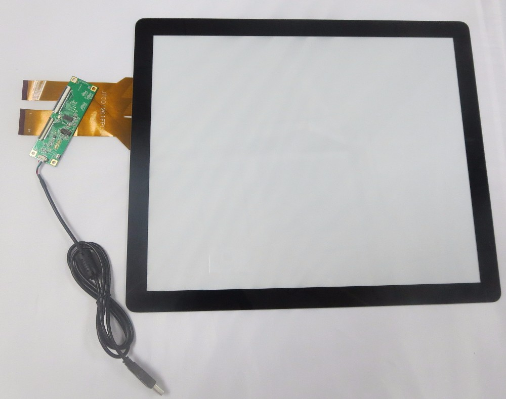 "Hot selling 17"" capacitive touch screen,capacitive touch screen overlay kit 17"