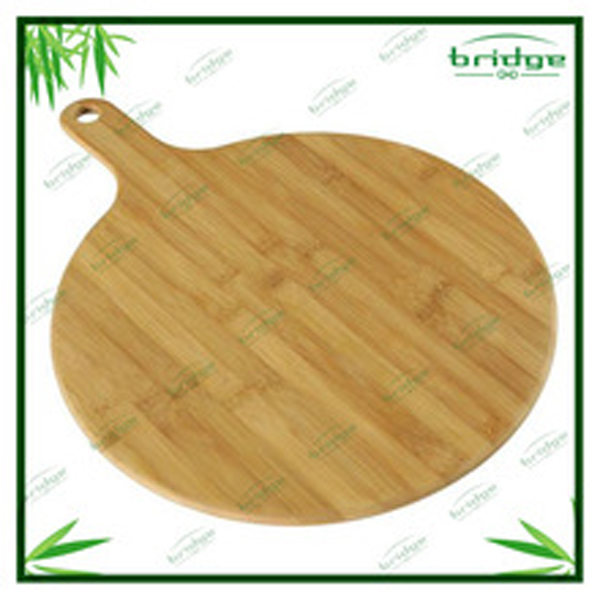 2014 new design bamboo pizza tray